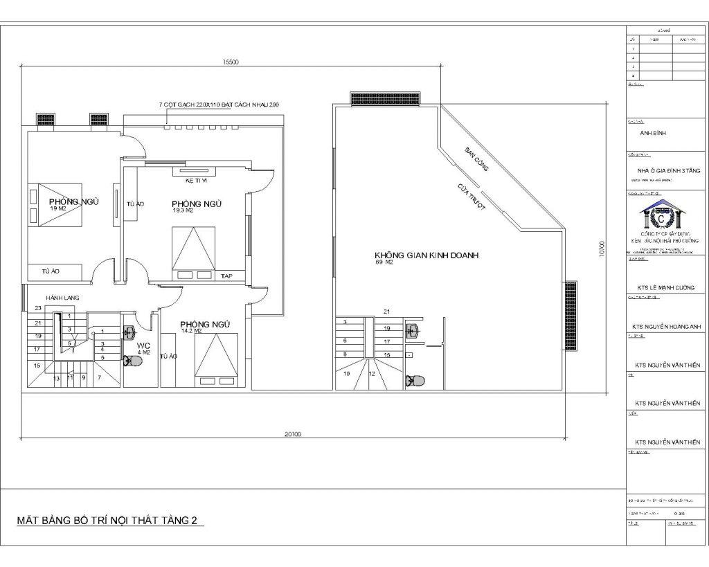 Mẫu thiết kế nhà ở kết hợp kinh doanh tại Hải Dương